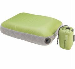 Cocoon - Air Core Pillow Ultralight - Kussen maat 40 x 55 cm wasabi /grijs