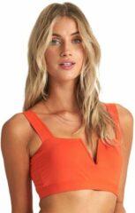 Billabong S.S Tank Bikini Top oranje