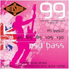 Rotosound 995LDG PSD Bass 99 set basgitaarsnaren 45 - 130