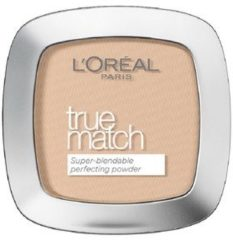 Beige L'Oréal Paris L'Oréal Paris True Match - C1 Ivory Rose -Foundation Powder