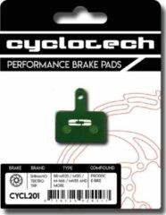 Groene Cyclotech Components Prodisc E-Bike Remblokken voor Tektro Auriga, Draco, Gemini en Orion