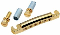 Gotoh GE101A Featherweight Stop Tailpiece goud