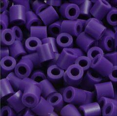 Nabbi Strijkkralen, afm 5x5 mm, gatgrootte 2,5 mm, donkerpaars (11), medium, 6000stuks