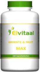 How2BeHealty How2behealthy - Jumboo's Groente/Fruit Max - 240KT olifantjes