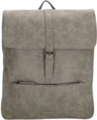 "Enrico Benetti Kate Rugtas 15"" mid grey backpack"