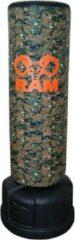 Groene RAM CAM O XL - Staande bokspaal / bokszak - Stabieler - Makkelijker