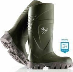 Groene BEKINA Veiligheidslaarzen S5, kleur olijf, maat 43