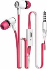 GsmXL J3-21 - oordopjes - roze-wit
