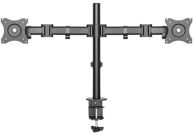 Afbeelding van NeoMounts NewStar NM-D135DBLACK - draai- en kantelbare monitorarm - geschikt voor monitoren t/m 27 inch - Zwart