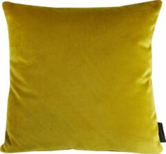 Gele Home Junky Kussen velours limoncello 45x45