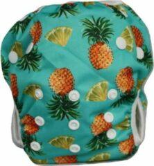 Blije Billetjes NIEUW!! Wasbare Zwemluier Klein Pineapple