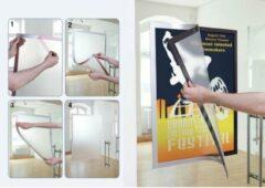 Durable Duraframe Poster A2 magnetisch frame Zilver