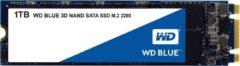 Blauwe Western Digital WD Blue - Interne SSD M.2 - 1 TB