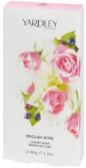 Yardley London English Rose Yardley 3 X 104 Ml Luxury Soap 104 Ml For Women