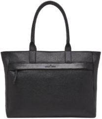Castelijn & Beerens Laptop schoudertas Onyx Anna Shopper 15.6 Inch Zwart
