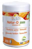 Be-Life Natur-D 2000 200 Capsules