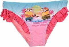 Roze Bikini broekje van Minions maat 104