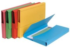 Blauwe Exacompta Documentenbox Forever A4, 290 g/m², vivid (pak 5 stuks)