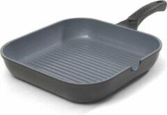 Grijze Grill pan 28 cm - Haute Cuisine Ecosafe