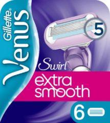 Gillette Venus Swirl Extra Glad Scheermesjes Vrouwen - 6 stuks