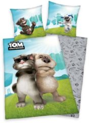Jugendbettwäsche, Talking Tom, »Cool Cat«, mit Tom & Ben