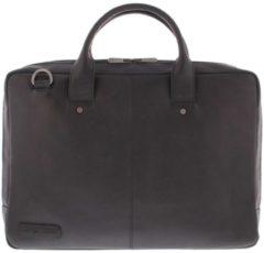 Plevier-Crossbodytassen-Omega Laptop Bag 17.3 inch-Zwart