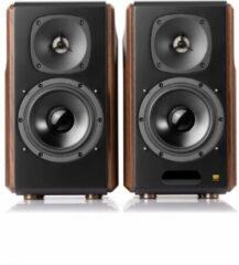 Zwarte Edifier S2000MKIII - 2.0 speakerset / Hout - boekenplankluidspreker   Bluetooth 5.0 130w RMS
