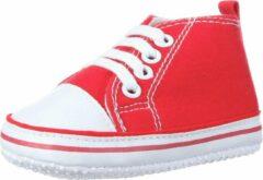Rode Playshoes Unisex Sloffen Maat 19
