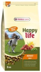 Versele-laga HAPPY LIFE ADULT BEEF SUPERIOR HONDENVOER #95; 3 KG