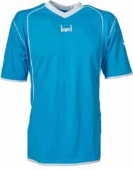 KWD Sportshirt Victoria - Voetbalshirt - Volwassenen - Maat L - Blauw/Wit
