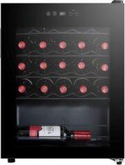 Zwarte Caviss S124MME4 - Wijnkoelkast 24 Flessen - 1 zone - Vrijstaand