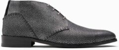 Zwarte Paulo Bellini Boots Olbia Suede Texas Black.