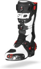 Witte Sidi Rex Air White Black Motorcycle Boots 41
