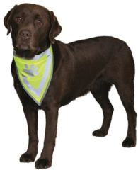 Gele Trixie Sicherheits Halstuch L bis XL: 43 bis 60 cm