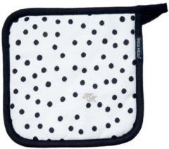 Witte Melli Mello Pannenlap Nora Dots 2 stuks