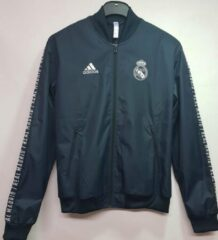 Grijze Real Madrid CF Adidas Real Madrid sportjas