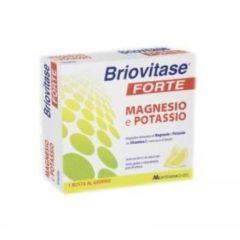 Montefarmaco otc Briovitase Forte Integratore Di Magnesio E Potassio 10 Bustine