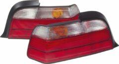 Universeel Set Achterlichten BMW 3-Serie E36 Sedan 1991-1998 - Rood/Helder