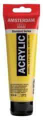 Gele Royal Talens Standard tube 120 ml Transparantgeel middel transparante acrylverf transparant geel middel
