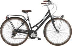 28 Zoll Damen City Fahrrad 7 Gang Alpina Velvet... schwarz