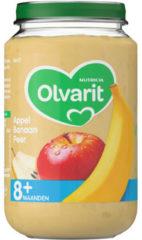 Olvarit Fruithapje 8m Appel Banaan Peer 200 gr