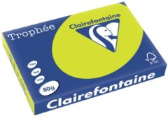 Clairefontaine Trophée Intens A3, 80 g, 500 vel, fluo groen