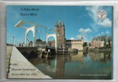 's Rijks Munt Nederland Jaarset Munten 1992 FDC - Zeeland