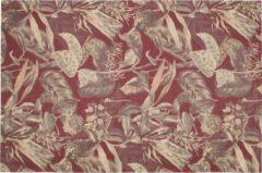 BePureHome Vloerkleed 'Bouquet' 155 x 230cm, kleur Chestnut