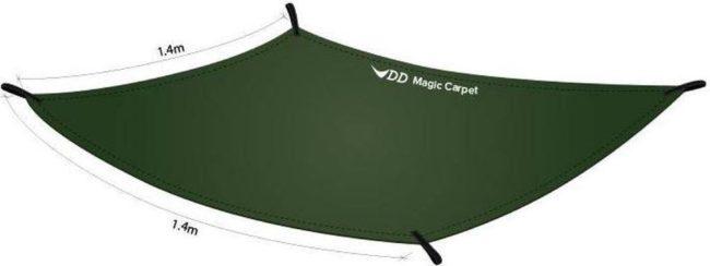 Afbeelding van Groene DD Hammocks Magic Carpet- Regular Size