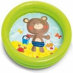 Intex baby/kinder opblaas zwembad groen 61 cm - Peuterbadje - Buitenspeelgoed