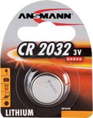 Ansmann Batterie Lithium Knopfzelle CR-2032 Ansmann Silber