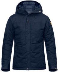 Marineblauwe Fjällräven Fjallraven Skogs� Padded Jacket Outdoorjas Heren - Maat XL