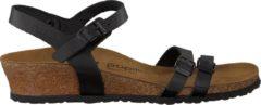 Papillio Lana Dames Sandalen met sleehak - Zwart - Maat 40