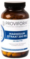 Proviform Magnesium citraat 200 mg & B6 Vitamine